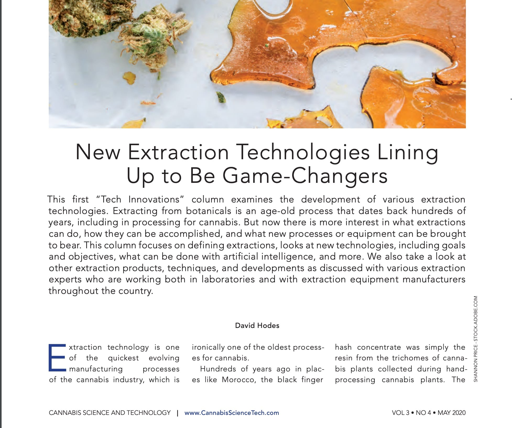 You are currently viewing New Extraction Technologies Lining Up to Be Game-Changers