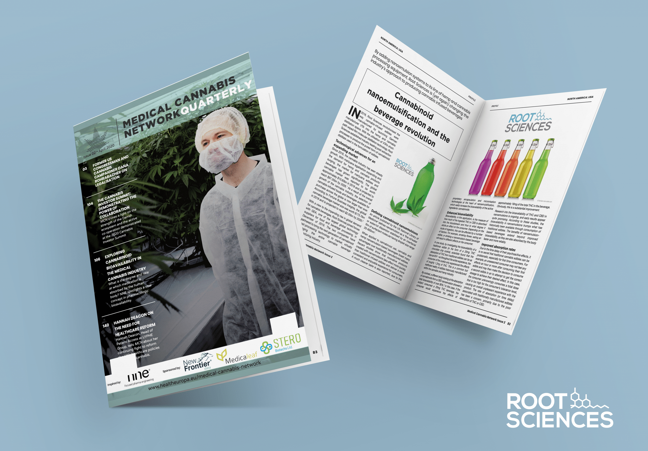 Root Sciences Featured in Issue 2 of Medical Cannabis Network Quarterly