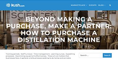How to Purchase a Distillation Machine