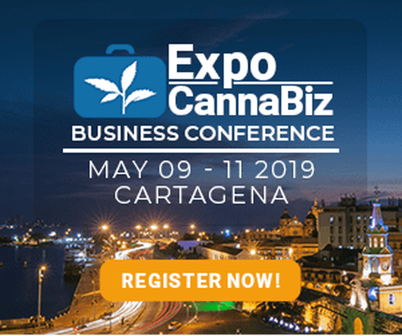 You are currently viewing JOIN US IN CARTAGENA, COLUMBIA: MAY 9TH – 11TH FOR EXPOCANNABIZ COLOMBIA 2019!