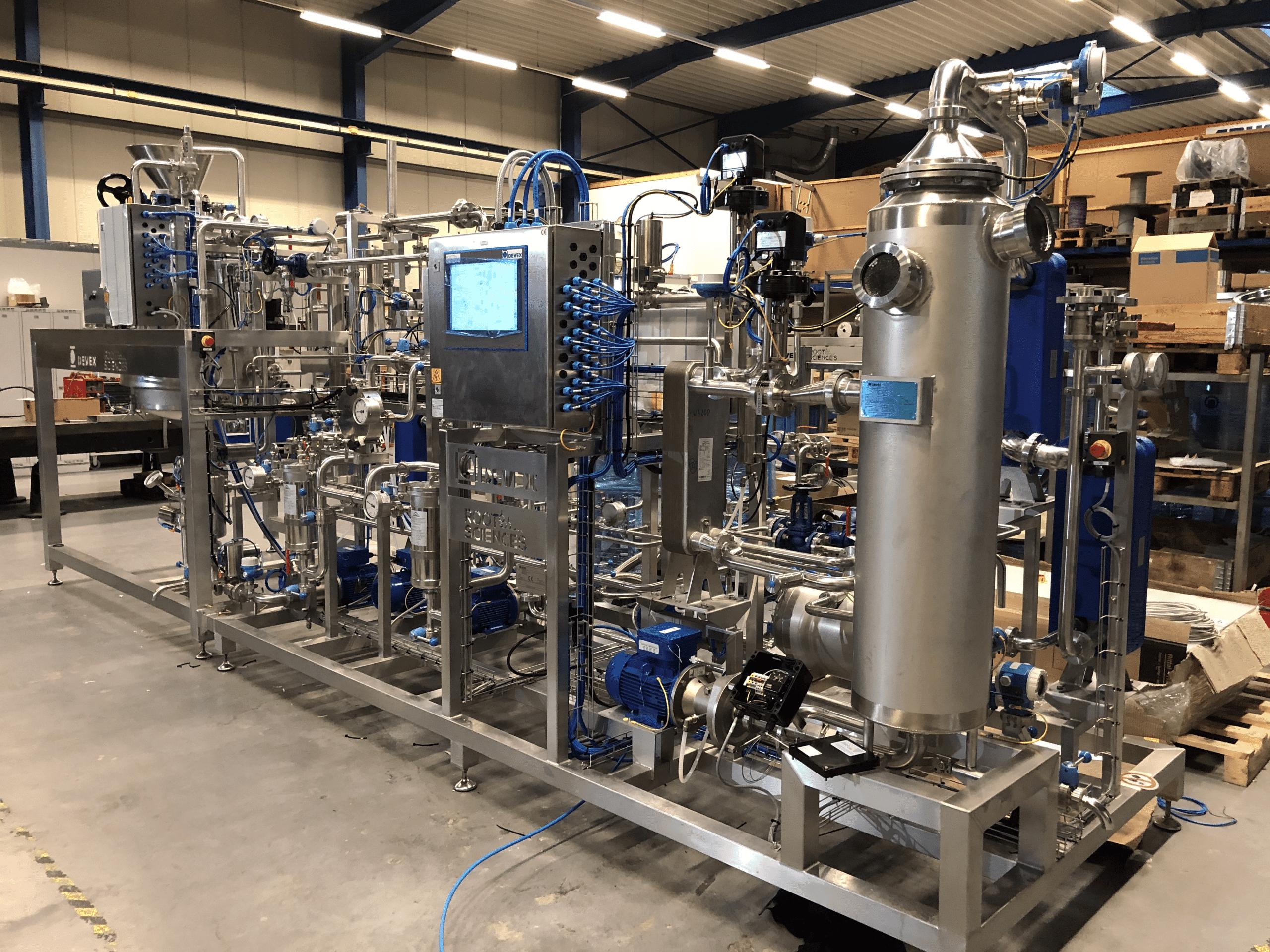 DEVEX CryoEXS 800 cannabis distillation equipment