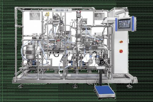 VK100 10 cannabis distillation equipment
