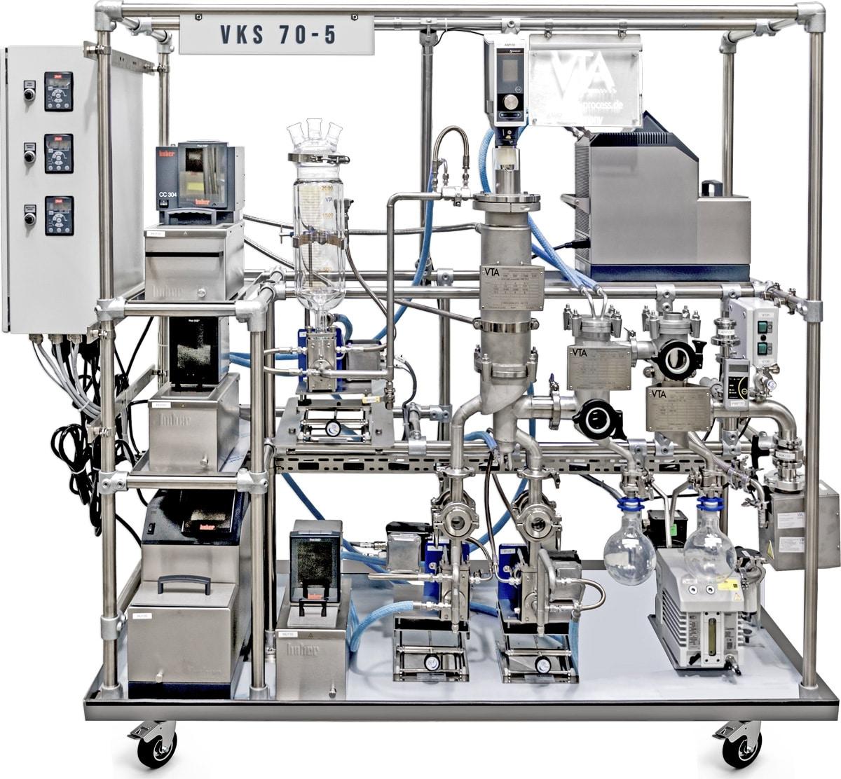 VKS-70-5-cannabis distillation equipment Machine