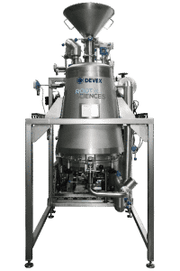 Cannabis EXTRACTION equipment LINE - DEVEX Front view