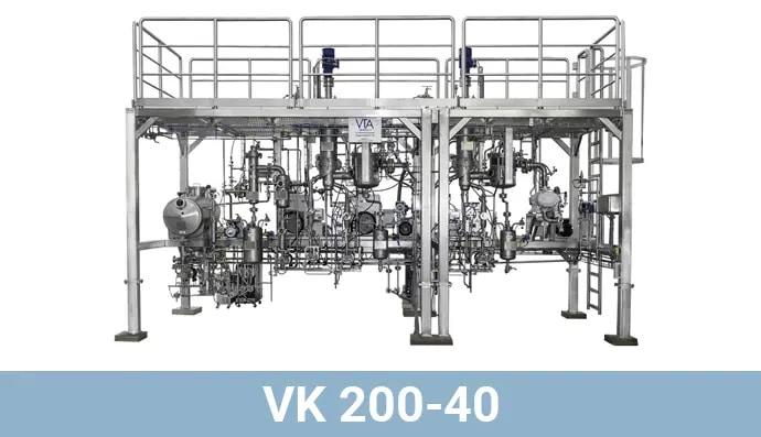 vk200-40 cannabis distillation equipment
