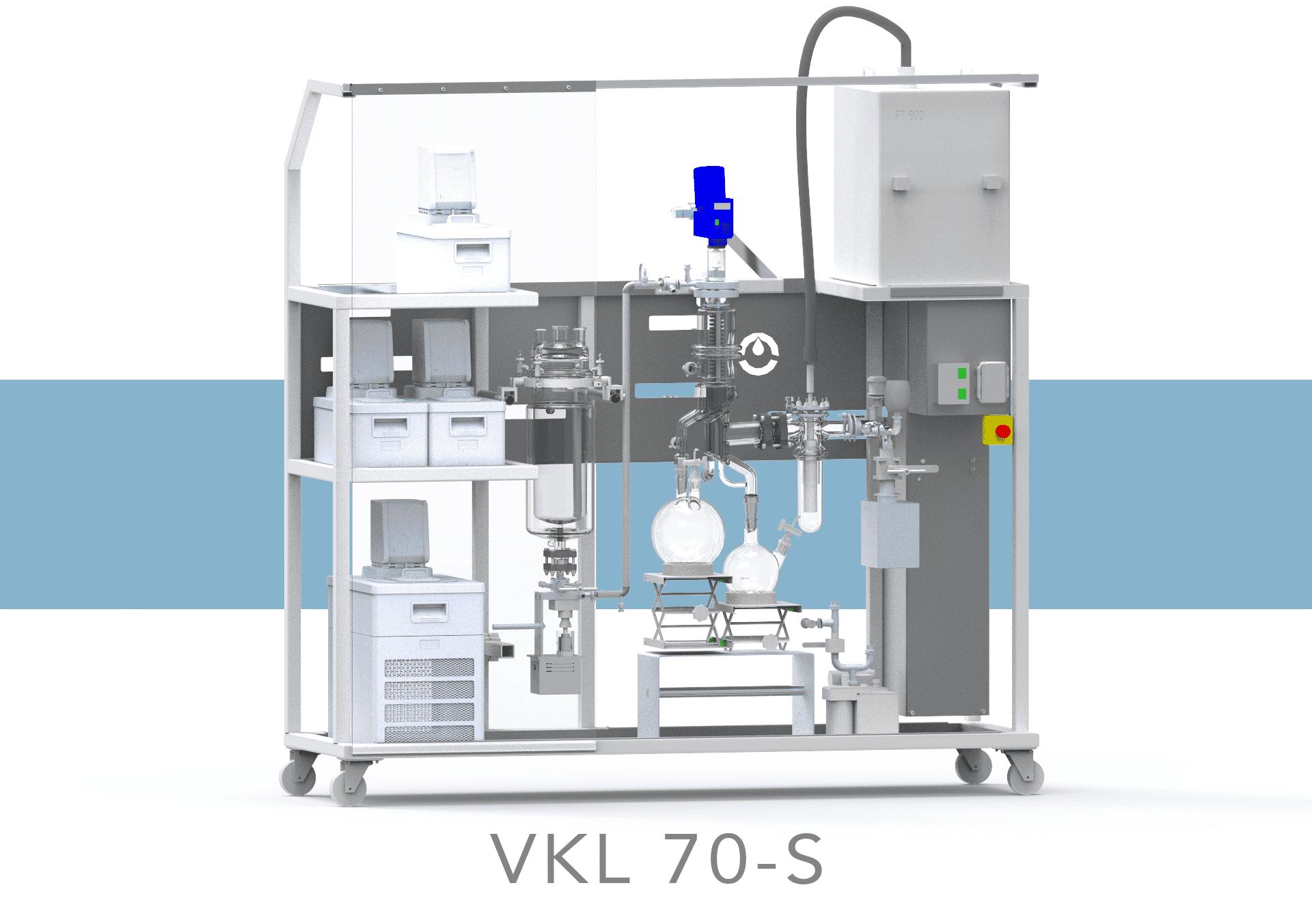 VKL70-S cannabis distillation machine