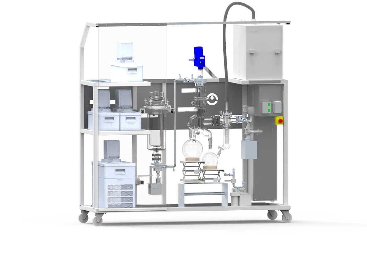 VKL70 cannabis distillation equipment
